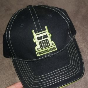 I am selling a trucking depot hat.